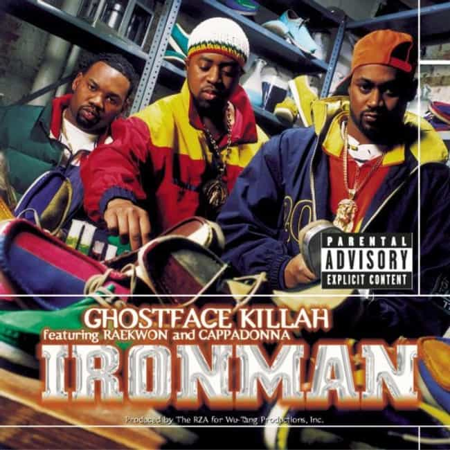 Ironman is listed (or ranked) 1 on the list The Best Ghostface Killah Albums of All Time