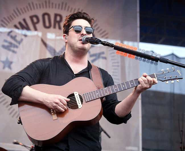 Marcus Mumford is listed (or ranked) 4 on the list The 11 Most Un-Rock Star Rock Stars