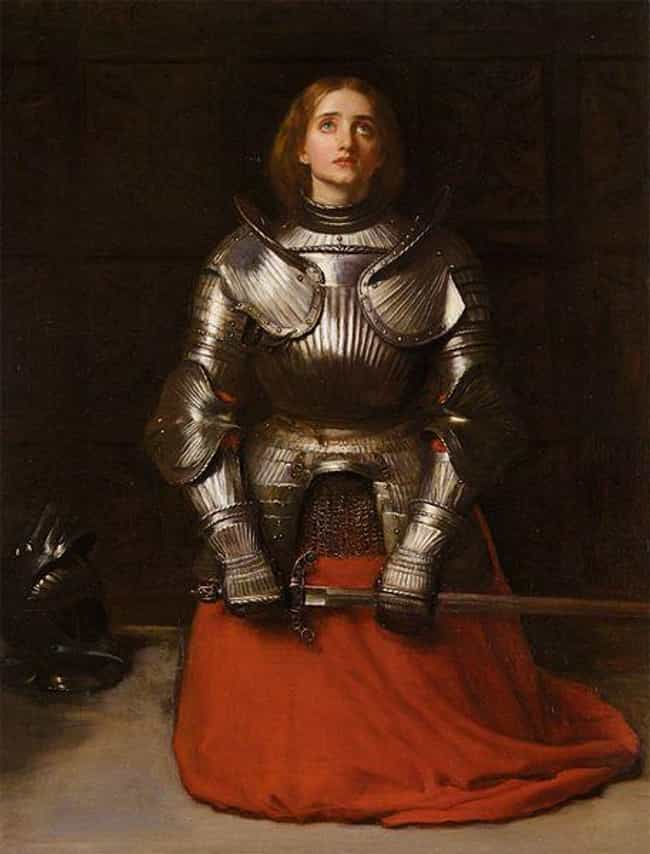 Jean d'Arc is listed (or ranked) 4 on the list 24 Transgender Historical Figures