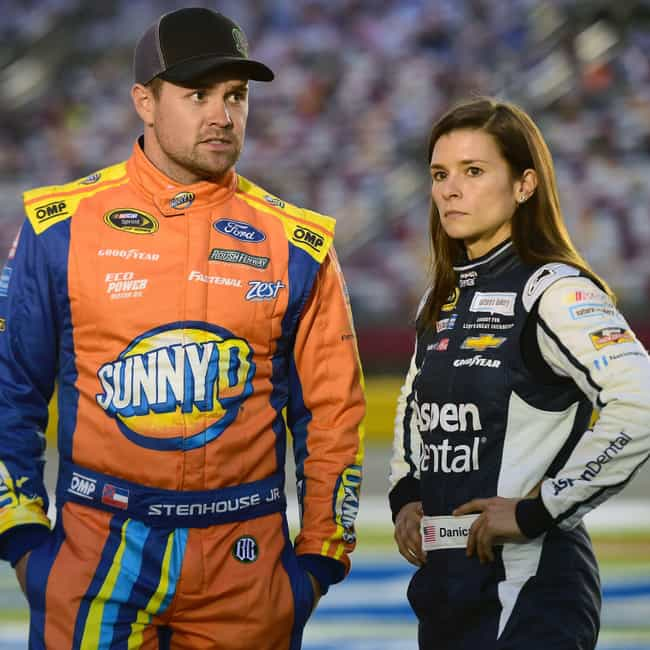 Ricky Stenhouse, Jr. is listed (or ranked) 2 on the list Danica Patrick Loves and Hookups
