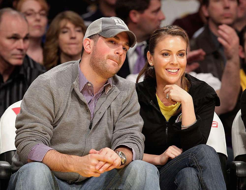 Alyssa milano dating history
