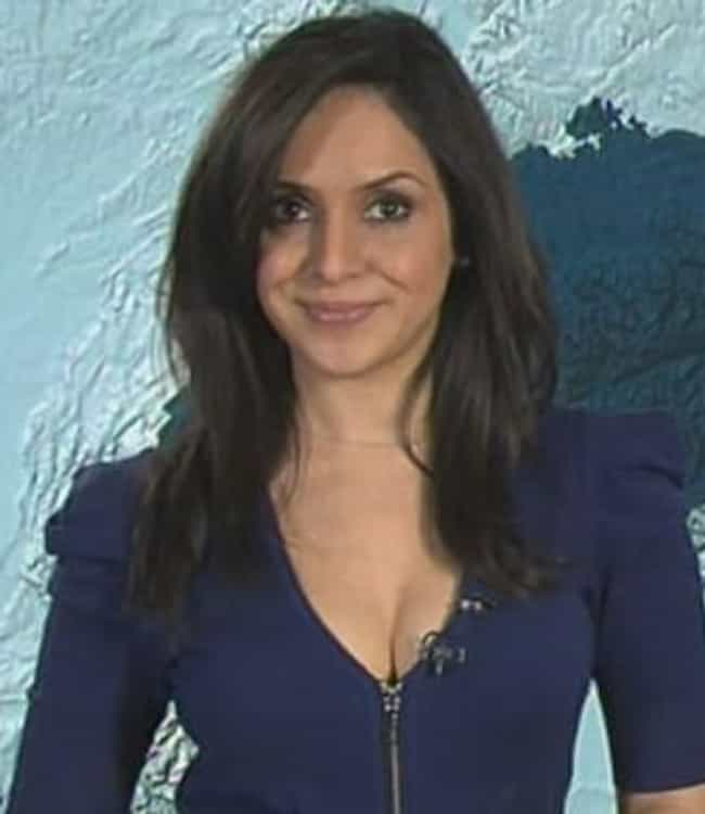 Nazaneen Ghaffar is listed (or ranked) 4 on the list The Top 10 UK News and Weather Presenter Babes
