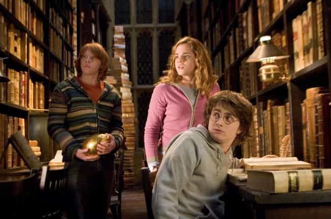 Hogwarts School of Witchcraft ... is listed (or ranked) 1 on the list The Best Fictional Libraries In Pop Culture