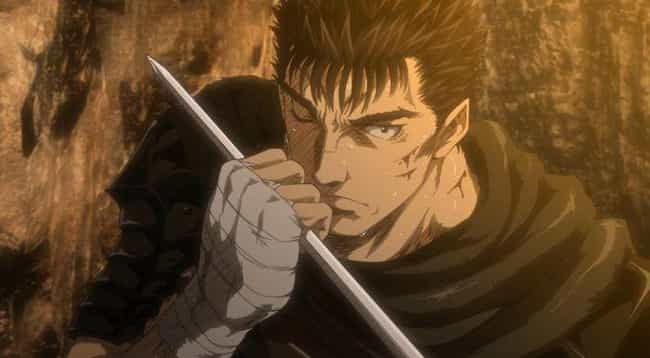 Berserk is listed (or ranked) 3 on the list The 20 Best Medieval Anime of All Time