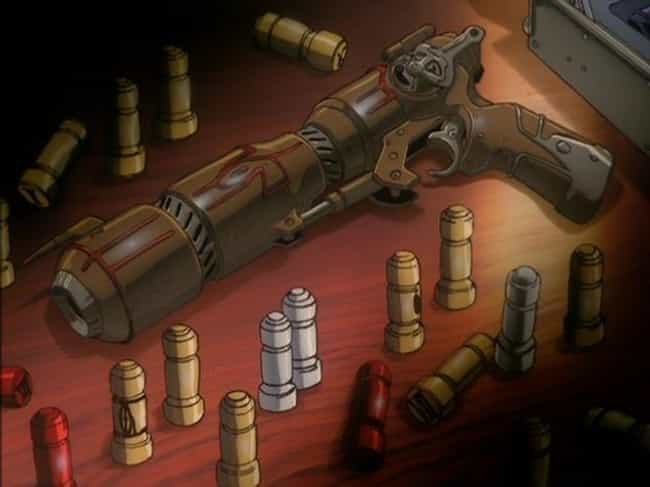 Outlaw Star is listed (or ranked) 3 on the list The 20 Coolest Anime Guns Of All Time