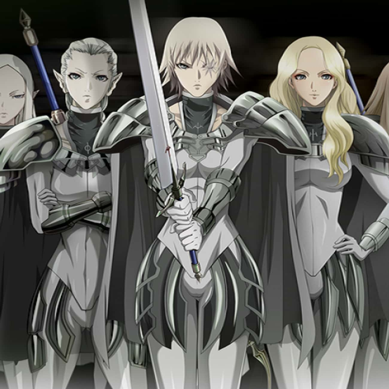Claymore is listed (or ranked) 2 on the list 15 Anime With Strong Female Characters