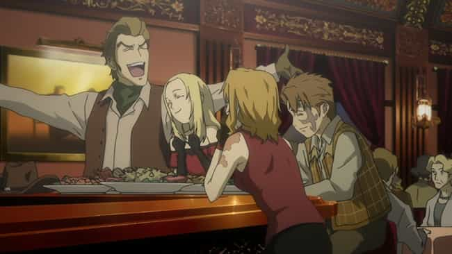 Baccano! is listed (or ranked) 2 on the list The 13 Best Anime Like Boogiepop Never Laughs