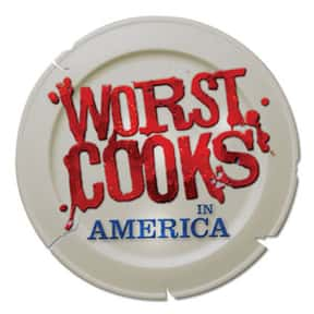 Worst Cooks in America is listed (or ranked) 16 on the list The Most Watchable Cooking Competition Shows