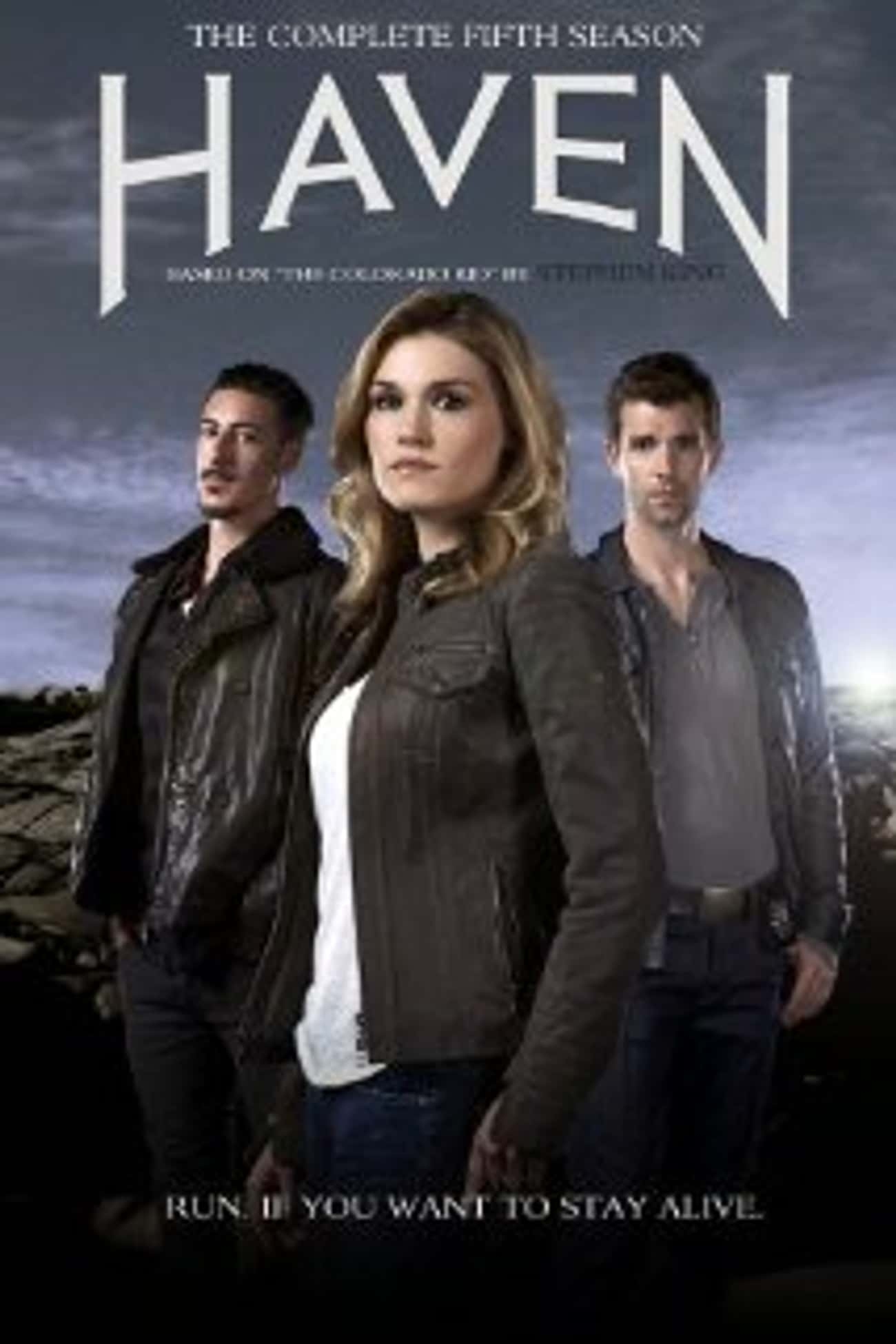 Haven is listed (or ranked) 2 on the list Stephen King Shows and TV Series