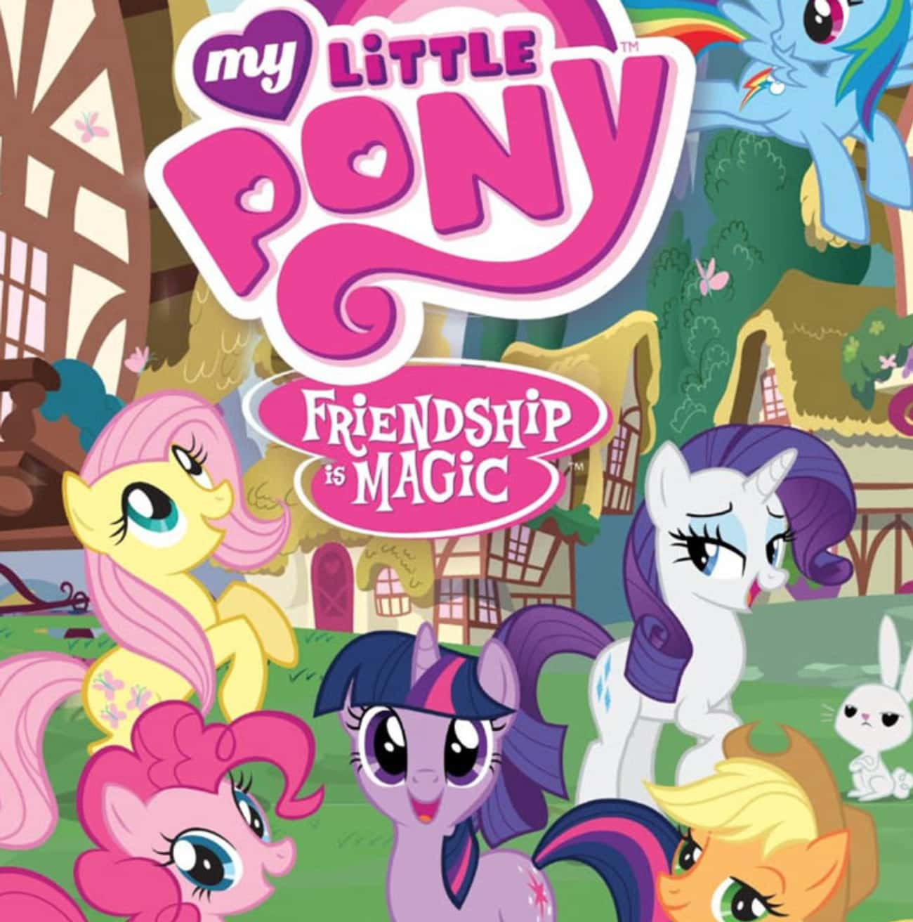 My Little Pony: Friendship Is  is listed (or ranked) 3 on the list Hasbro Shows and TV Series
