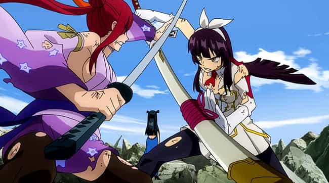 Fairy Tail is listed (or ranked) 3 on the list 14 Anime With Super Strong Plot Armor That Can Get Annoying