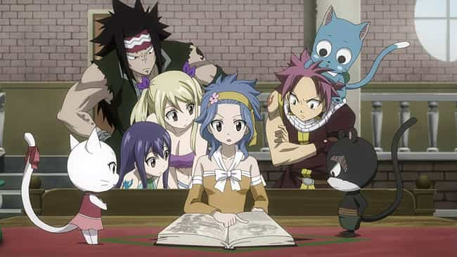 Fairy Tail is listed (or ranked) 3 on the list 15 Anime Where The Protagonist Joins A Mysterious Group