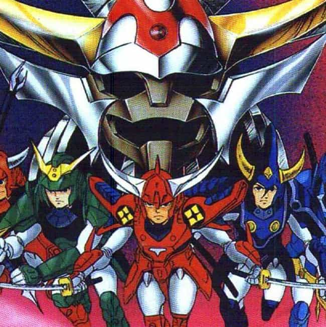Ronin Warriors (JP) is listed (or ranked) 4 on the list The Best Sentai Anime