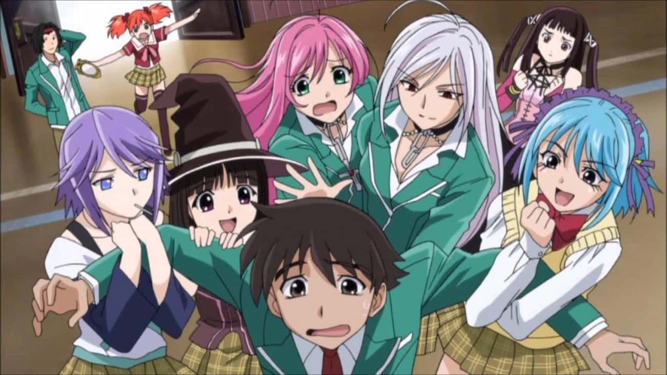 Rosario + Vampire is listed (or ranked) 4 on the list The 13 Best Anime Like 'Interspecies Reviewers'