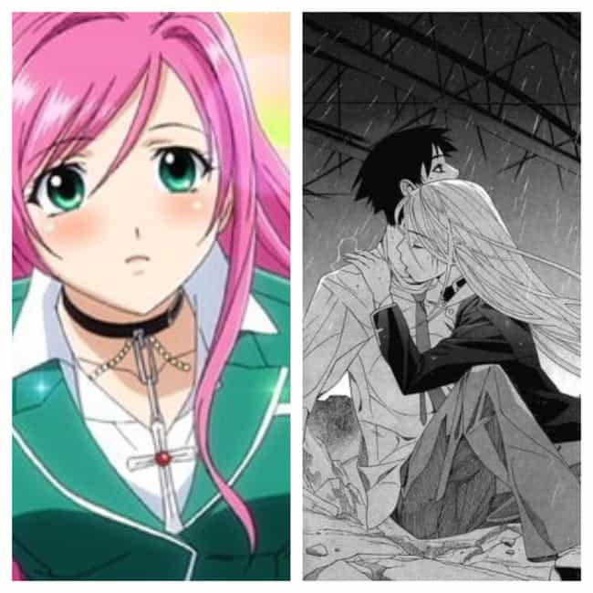 Rosario + Vampire is listed (or ranked) 4 on the list 15 Anime You Should Skip And Read The Manga Instead