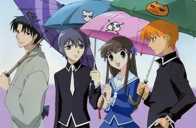 Fruits Basket is listed (or ranked) 4 on the list 15 Soothing Anime That Are Good To Watch Before Bed