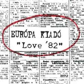 Európa kiadó is listed (or ranked) 10 on the list The Best Underground Music Bands/Artists