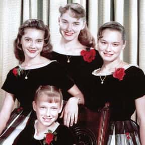 The Lennon Sisters is listed (or ranked) 7 on the list The Best Sister Bands & Musical Groups, Ranked