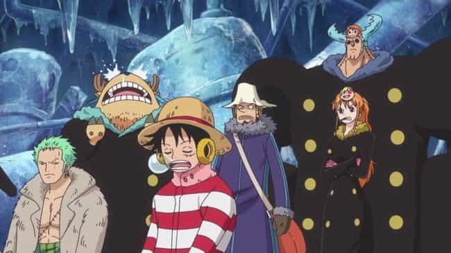 One Piece is listed (or ranked) 5 on the list 14 Anime You Either Love Or Hate