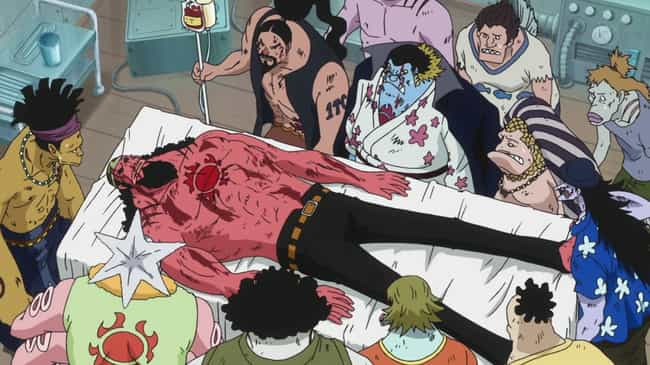 One Piece is listed (or ranked) 4 on the list 12 Times When Humans Were The Real Monsters In Anime