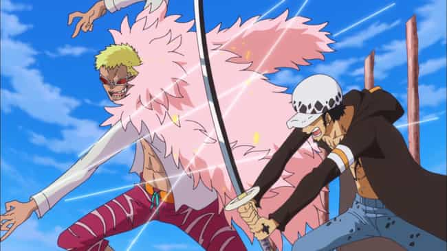 One Piece is listed (or ranked) 7 on the list 15 Anime Without Romance For When You're Sick Of Love