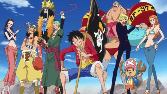 One Piece is listed (or ranked) 2 on the list 15 Anime Fans of Star Wars Will Enjoy