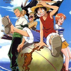 One Piece is listed (or ranked) 3 on the list The Best Fantasy Anime of All Time