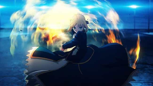 Fate/stay night is listed (or ranked) 1 on the list The 13 Best Anime That Use 3D Animation