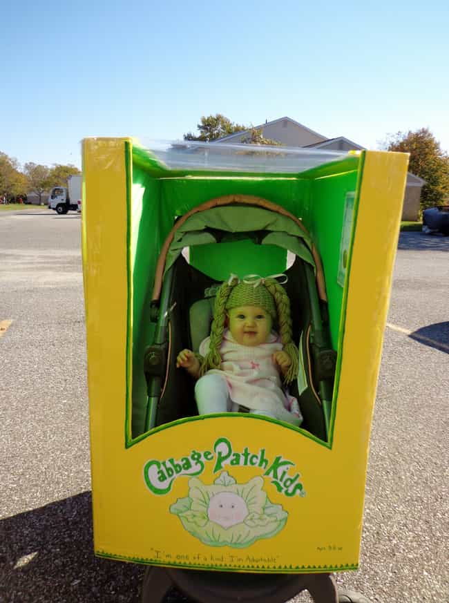Cabbage Patch kids is listed (or ranked) 4 on the list The 50+ Greatest Reddit User Halloween Costumes of 2013