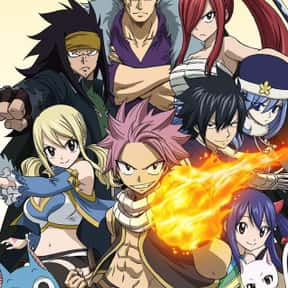 Fairy Tail is listed (or ranked) 2 on the list Which Anime Universe Would You Want To Live In?