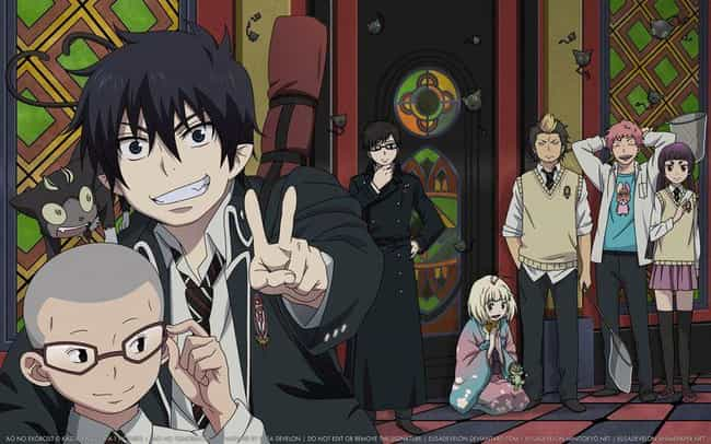 Blue Exorcist is listed (or ranked) 2 on the list 15 Anime Fans of Harry Potter Will Enjoy