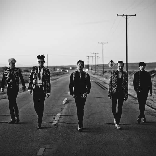 BIGBANG is listed (or ranked) 2 on the list The Best YG Entertainment Groups Of All-Time