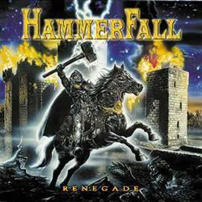 Renegade is listed (or ranked) 4 on the list The Best HammerFall Albums of All Time