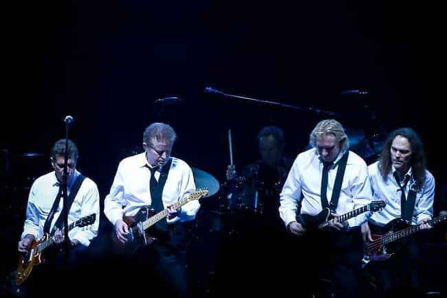 The Eagles is listed (or ranked) 3 on the list Bands Whose Whole Thing Is Hating Each Other