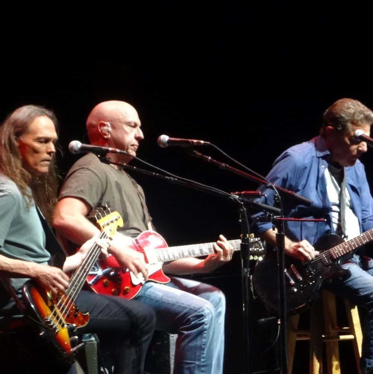 The Eagles is listed (or ranked) 2 on the list Famous Band Reunions: Love 'Em or Hate 'Em?