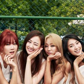 SISTAR is listed (or ranked) 24 on the list The Best K-pop Girl Groups Of All-Time
