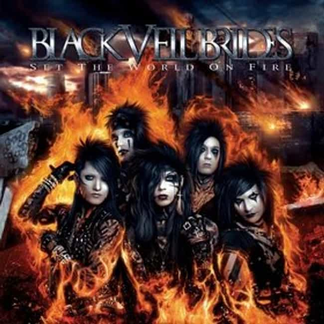 Set the World On Fire is listed (or ranked) 2 on the list The Best Black Veil Brides Albums of All Time