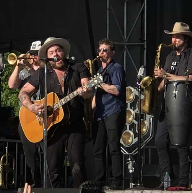 Nathaniel Rateliff is listed (or ranked) 3 on the list Shaky Knees Festival 2018 Ranked and Reviewed