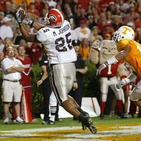 Michael Johnson is listed (or ranked) 23 on the list The Best Georgia Bulldogs Wide Receivers Of All Time