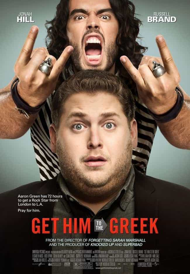 Get Him to the Greek is listed (or ranked) 1 on the list What to Watch If You Love Forgetting Sarah Marshall