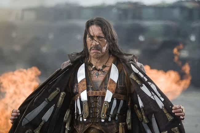 Machete is listed (or ranked) 1 on the list Danny Trejo's 21 Strangest B-Movie Roles