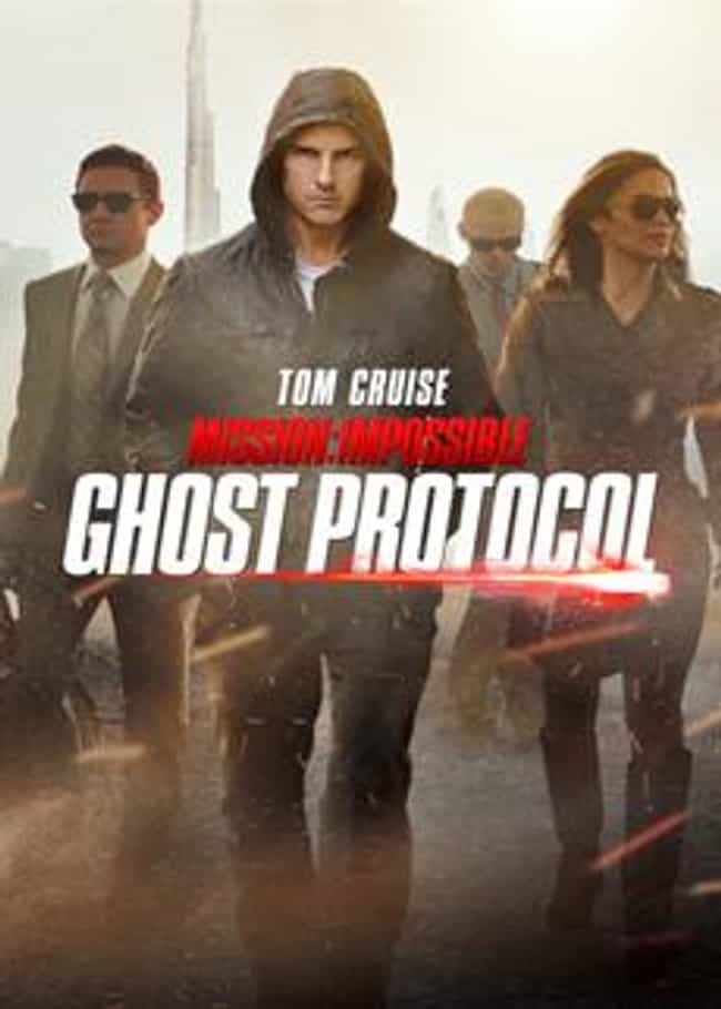Mission: Impossible – Ghost Pr... is listed (or ranked) 4 on the list Bad Robot Productions Movies List