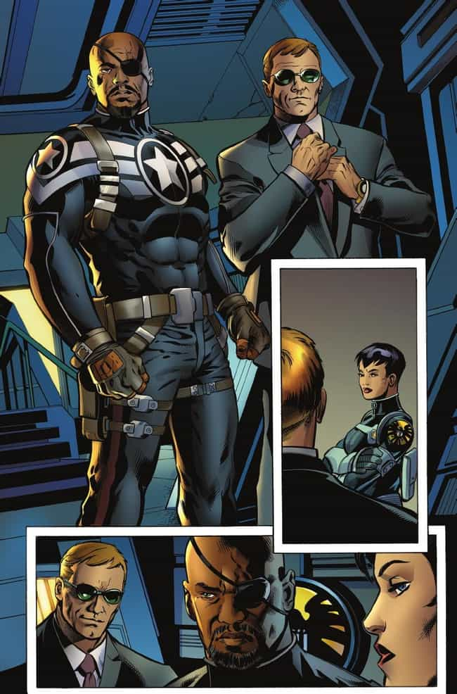 Agent Phil Coulson is listed (or ranked) 3 on the list Comic Book Characters That Debuted Outside Comics