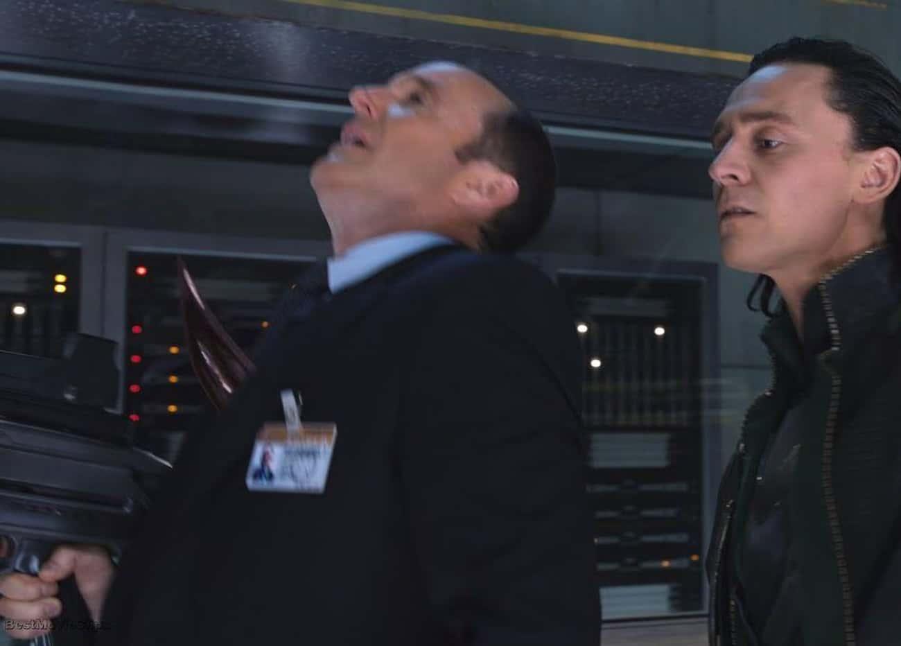 Coulson Suffers A Backstabbing