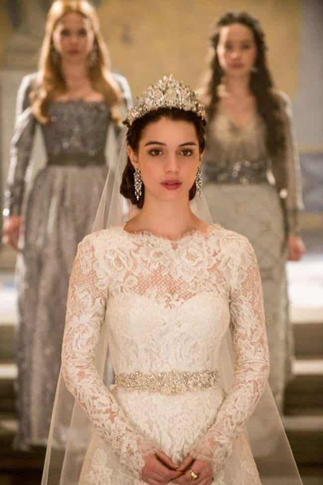 Mary Stuart is listed (or ranked) 1 on the list The 36 Best TV Wedding Dresses in the History of Television