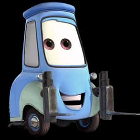 Guido is listed (or ranked) 17 on the list List of Cars 2 Characters