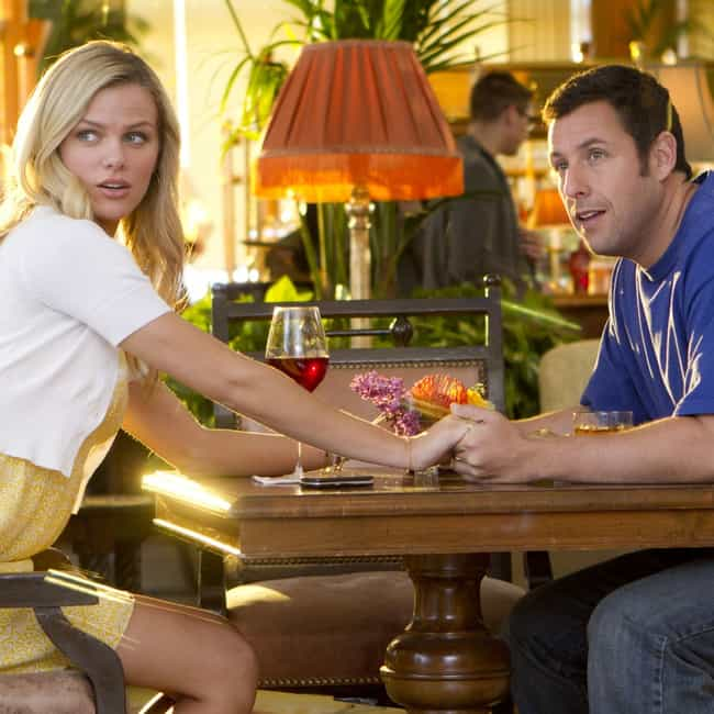 Palmer is listed (or ranked) 4 on the list All the Love Interests in Adam Sandler Movies, Ranked