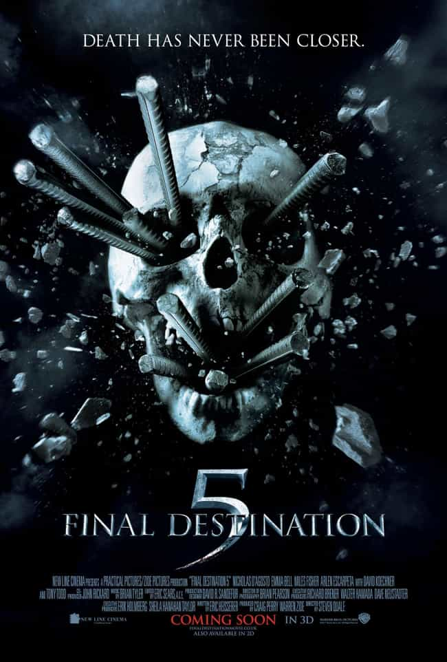 Final Destination 5 is listed (or ranked) 2 on the list The Best 'Final Destination' Movies