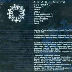 Anastasia is listed (or ranked) 9 on the list Famous People Named Anastasia