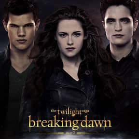 The Twilight Saga: Breaking Da is listed (or ranked) 4 on the list The Best Robert Pattinson Movies